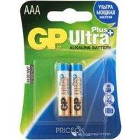 Фото GP Batteries AAA bat Alkaline 2шт Ultra Plus (24AUP)