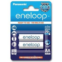 Panasonic AA 1900mAh NiMh 2шт Eneloop (BK-3MCCE/2BE)