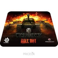 Фото SteelSeries QcK World of Tanks Edition (67269)