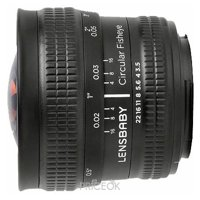 Фото Lensbaby Circular with Fisheye Nikon F