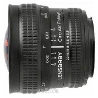 Фото Lensbaby Circular with Fisheye Nikon F
