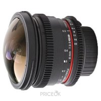 Фото Samyang 8mm T3.8 AS IF UMC Fish-eye CS II VDSLR Nikon F