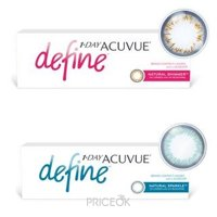 Фото Johnson&Johnson 1-Day Acuvue Define