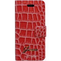 Фото Guess Flip Case Croco Red for iPhone 5 (GUFLHP5CRR)