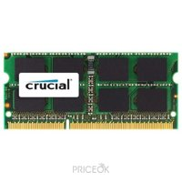 Фото Crucial 8GB SO-DIMM DDR3L 1600MHz (CT102464BF160B)