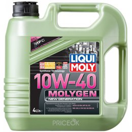 Моторное масло Liqui Moly Molygen New Generation 10W-40 4л (9060)