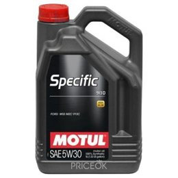 Моторное масло Motul SPECIFIC FORD 913 C 5л
