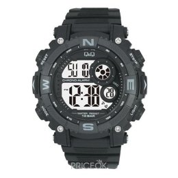 Q&Q Man Black M133-001