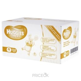 Подгузник Huggies Elite Soft 4 (132 шт.)