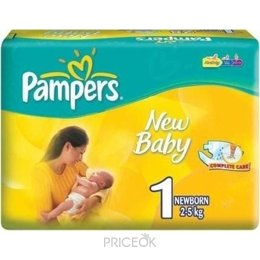 Фото Pampers New Baby Newborn 1 (27 шт.)