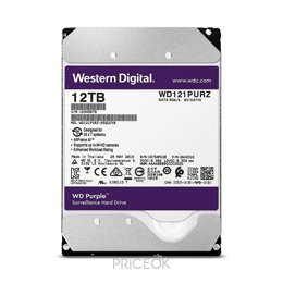 Жесткий диск (HDD) Western Digital Purple 12TB (WD121PURZ)