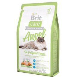 корм для кошек  Brit Care Cat Angel I'm Delighted Senior 2 кг