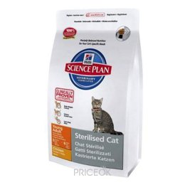 корм для кошек  Hill's Science Plan Feline Young Adult Sterilised Cat Chicken 1,5 кг
