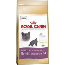 корм для кошек  Royal Canin British Shorthair 34 Adult 4 кг