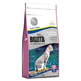 корм для кошек  Bozita Feline Sensitive Hair & Skin 2 кг