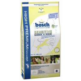 Фото Bosch Sensitive Lamb & Rice 3 кг