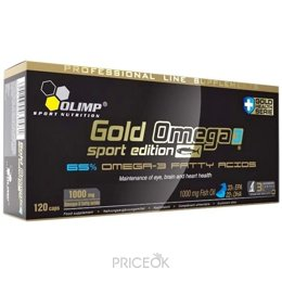 Спортивный витамин и минерал Olimp Labs Gold Omega 3 Sport Edition 120 caps
