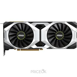 Видеокарту MSI GeForce RTX 2080 VENTUS 8G OC