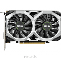 Видеокарту MSI GeForce GTX 1650 VENTUS XS 4G OC