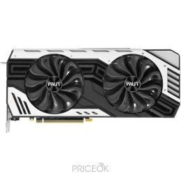 Видеокарту Видеокарта Palit GeForce RTX 2060 SUPER JS (NE6206ST19P2-1061J)