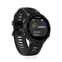 Фото Garmin Forerunner 735XT Run Bundle Black/Gray (010-01614-15)